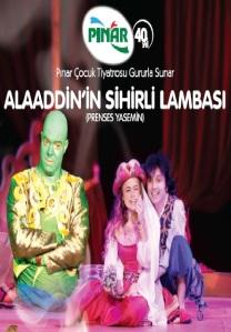 Alaaddin'in Sihirli Lambas,ı Prenses Yasemin, Cin, Lambadaki Cin