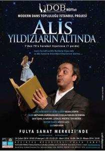 Devlet Opera ve Balesi Modern Dans Gösterisi, Alis Harikalar Diyarında, çocuklara dans