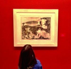 anne ve çocukları , Picasso