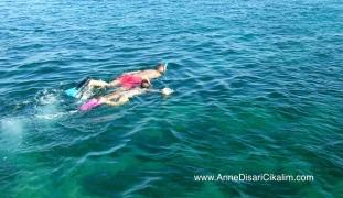 Ege'de snorkel