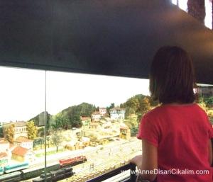 tren maketi Rahmi Koc muzesi
